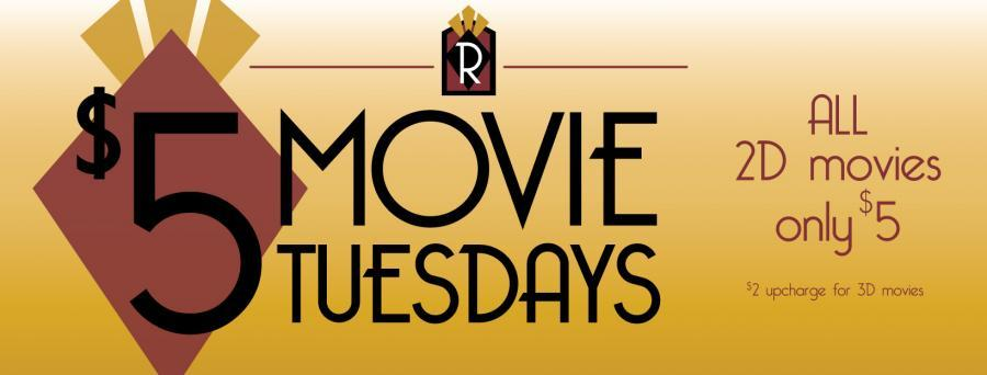 Five Dollar Movie Tuesdays